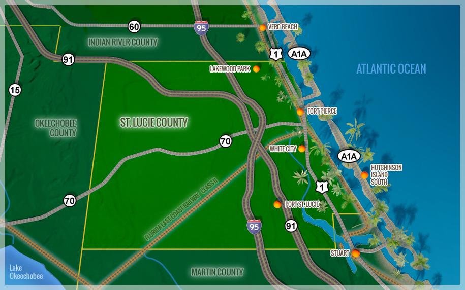 Hutchinson Island Florida Map.Local View St Lucie County Edc Interactive Map