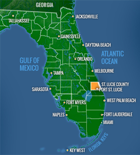 Where Is Port St Lucie Florida On The Map.St Lucie County Edc